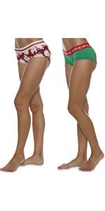 santa claus christmas elf pants underwear panties bikini boyshorts hipster shorts jesus