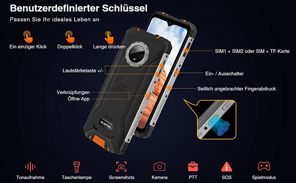Rugged Smartphone Handys ohne vertrag
