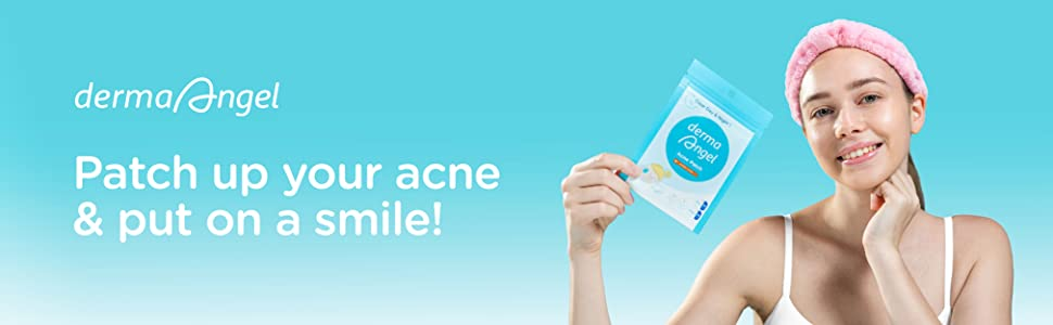 Patch up your acne & put on a smile