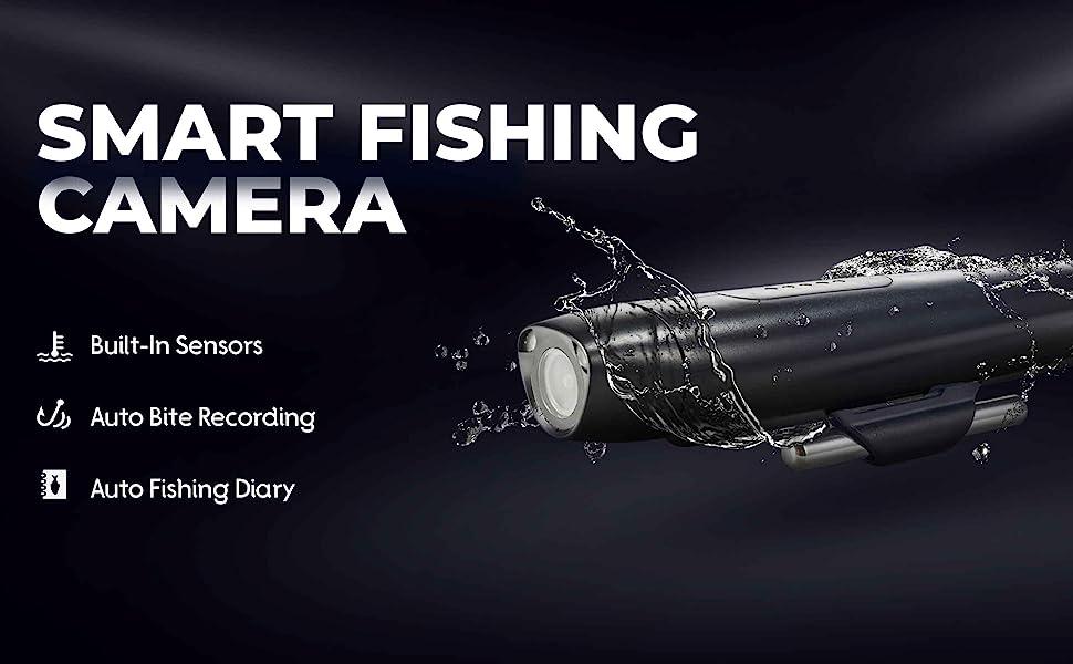 Spydro Fishing Camera 32GB The Best Smart Fishing Camera HD 1080 w// Boat Mount