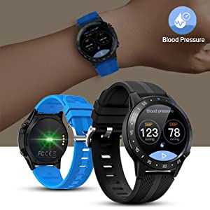smart watch with blood pressure  Anmino Smart Watch (GPS +Barometer+Altimeter+Compass),Full HD Touchscreen,All-Day Heart Rate and Activity Fitness Tracker,Pedometer,Calorie Counter,Sleep Tracker,Bluetooth smartwatch 24e5aaca 33e2 48c8 9211 80beb5cc11e0