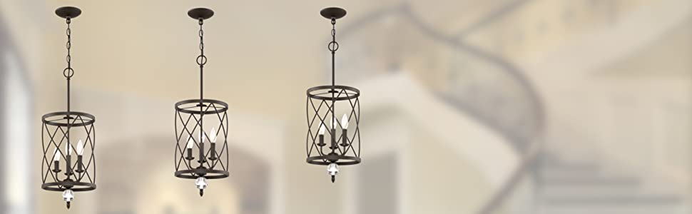 kira home eleanor 3 light traditional foyer pendant chandelier oil rubbed bronze spiral cylinder