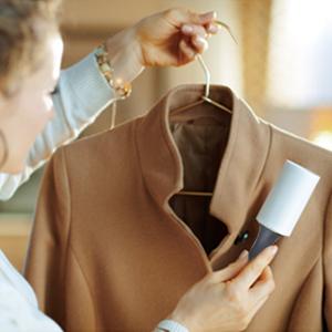 Gardez vos vêtements propres et bien tendus.