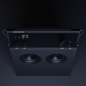Teenage Engineering OB-4 Magic Radio Portable Stereo Speaker with Built-in Loop Recorder