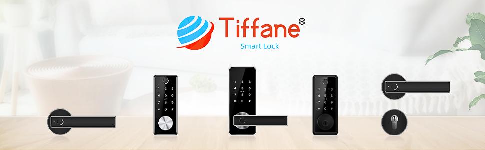 Tiffane Smart Biometric Fingerprint Door Lock