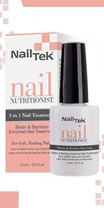 Nail Tek Nail Nutritionist 5 in 1 Nail Treatment, 0.5 oz