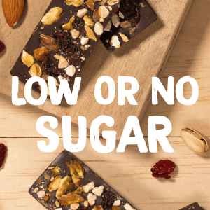 low or no sugar