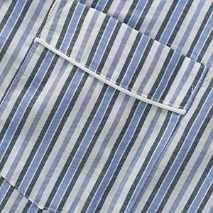 men cotton plaid lightweight pajamas set sleep shirt pajamas pants loungewear