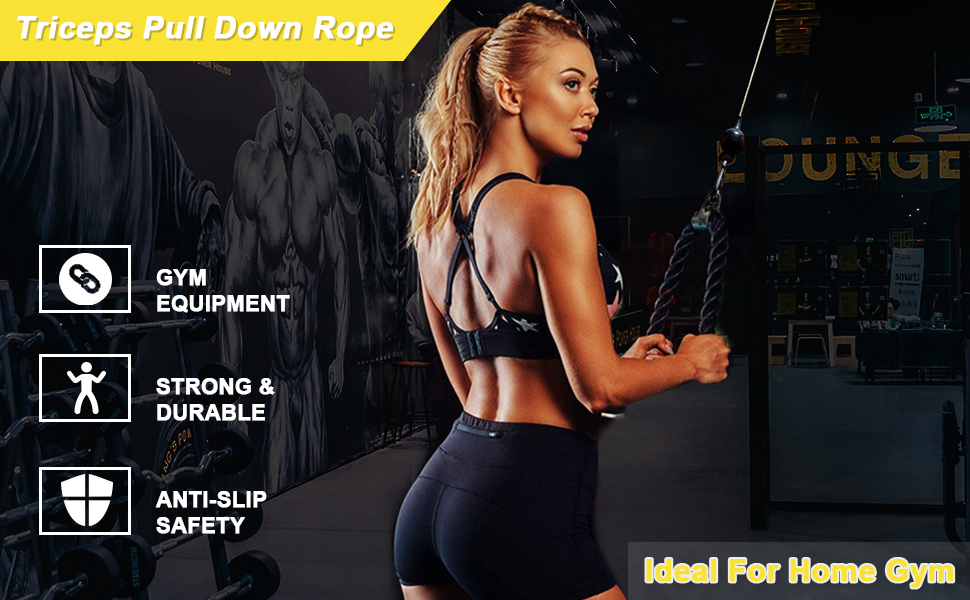 Tricep Rope Cable Attachment