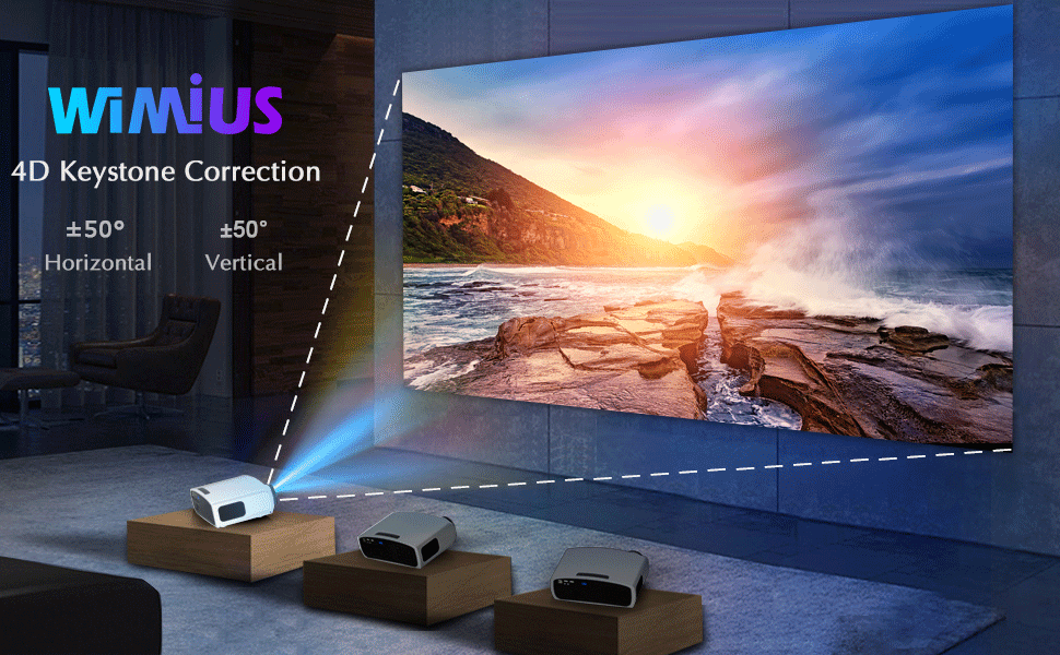 WiMiUS S1 Projector Light Up Your World!