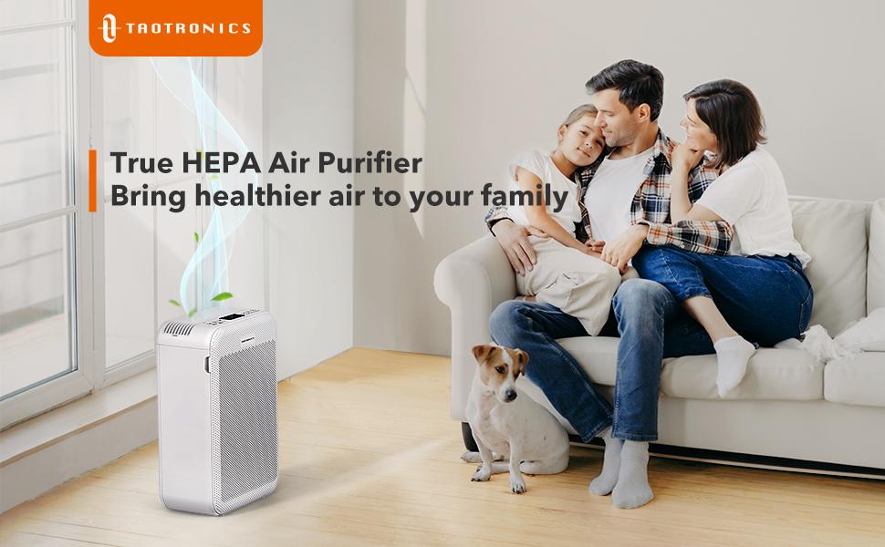 TaoTronics HEPA  Air Purifier for Home