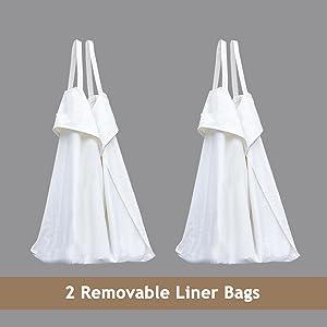 2 liner bags