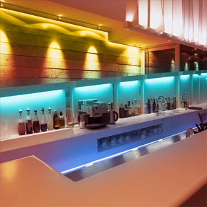 Shine Your Vibrant Bar Pick from 20 diverse colors ambiance for the bar. Our st