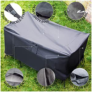 garden table cover, outdoor furniture covers,
