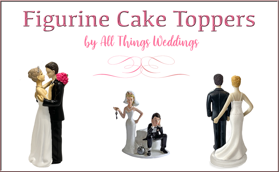 Figurine Cake Toppers Ball and Chain Loving Touch Look of Love