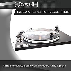 Amazon Com Hudson Hi Fi Vinyl Record Cleaner Anti Static Brush Record Cleaning Arm Brush Cleaner Antistatic Lp Cleaning Brush Turntable Cleaning Record Brush Home Audio Theater