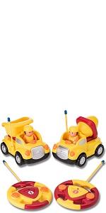 construction rc cartoon cars