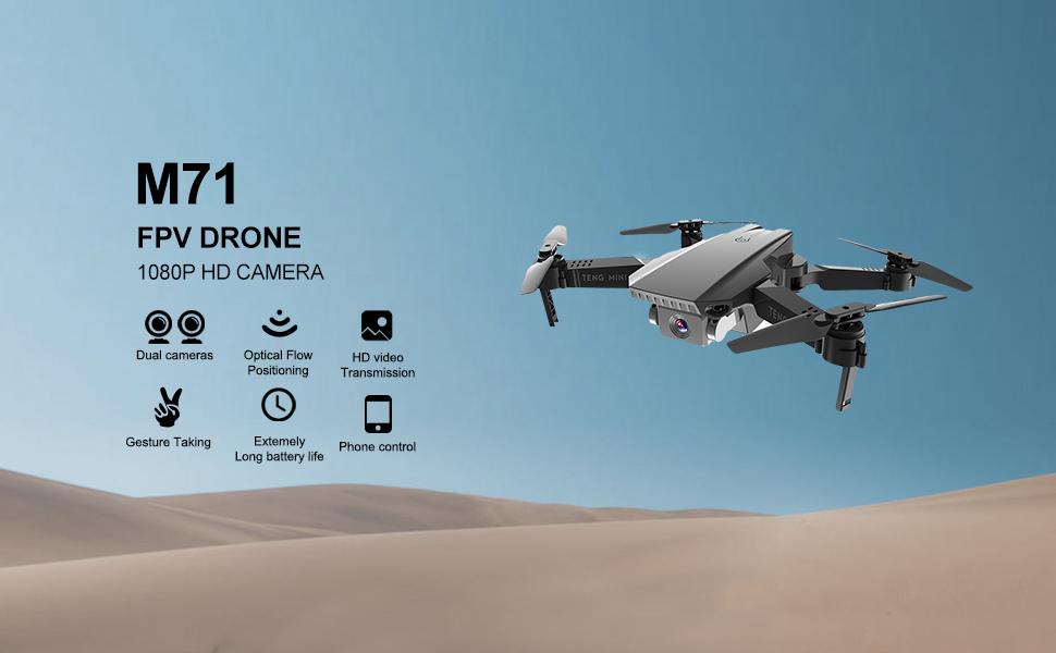 M71 FPV Drone with 1080P camera