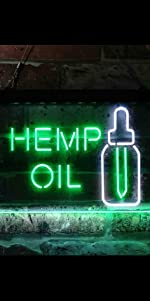 ADVPRO LED Neon sign light-ing Dual-color GROW Marijuana CBD Open Hemp Oil High Life Weed Green Oil
