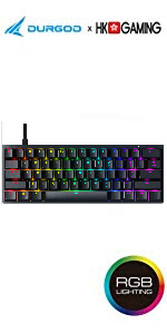 Venus 60% aluminium frame mechanical rgb gaming keyboard ultra compack