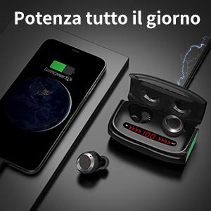 Junio1 Lettore Musicale Stereo Senza Fili Portatile Impermeabile Bluetooth Speaker Card Subwoofer