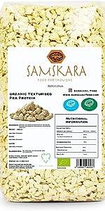 Proteína de Guisante granulada Texturizada | de cultivo ...