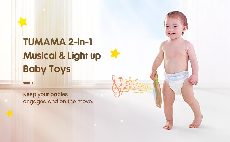 i bambini illuminano i giocattoli sensoriali