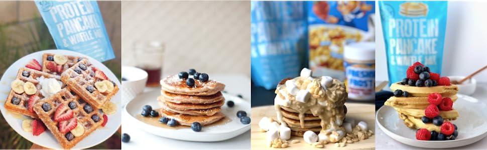 Phoros Nutrition Protein Pancake & Waffle Mix banner