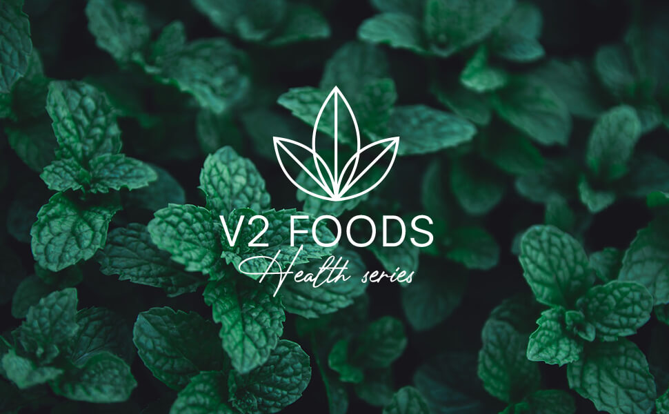 V2 Foods Health Gesundheit Menthol Minze Kristalle Mentholkristalle