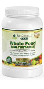 BioSource Labs Whole Food Daily Multivitamin
