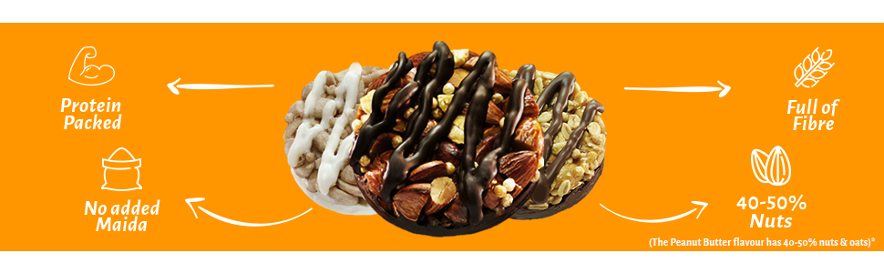 choco butter, open box, choco almond, white choco cashew, peanut butter, open secret cookies
