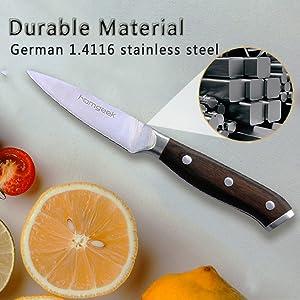homgeek knife set 15 pieces