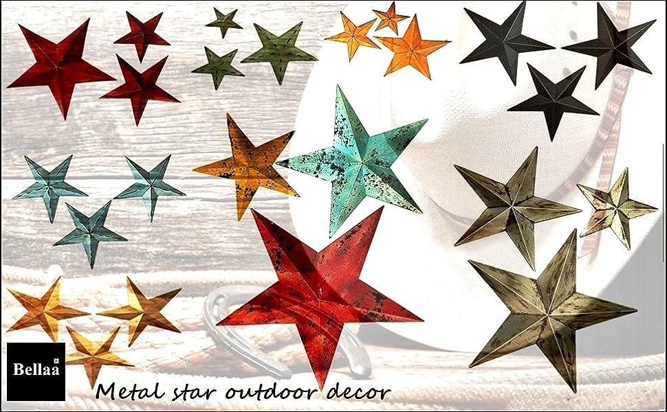 texas star metal wall decor, outdoor metal star wall decor, large metal star wall decor, black star