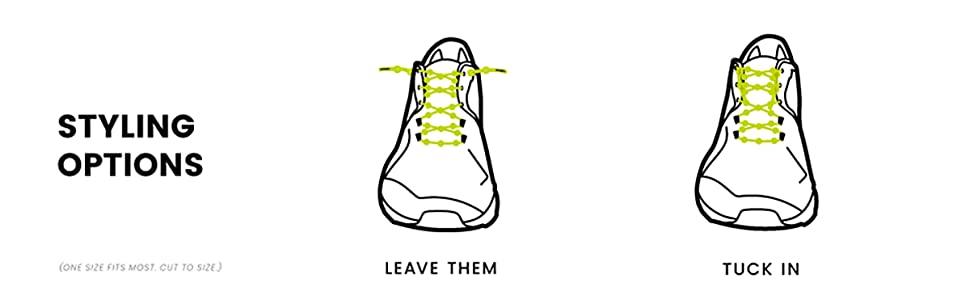 The Ultimate Elastic No Tie Shoelaces