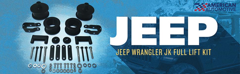 jeep wrangler unlimited jk suspension lift kit inch mopar 07 08 09 10 11 12 13 14 15 16 17 18