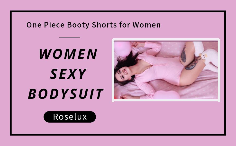 roselux women sexy booty bodysuit