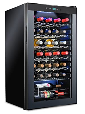 Ivation wine cooler 34 bottles
