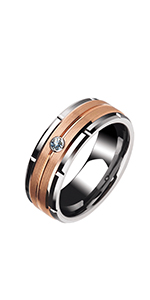 tungsten rings wedding bands for men for him