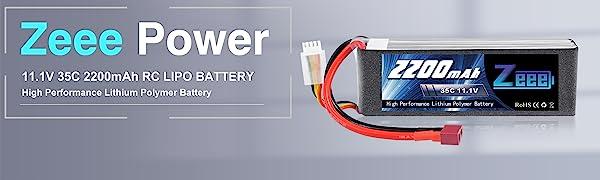 Zeee 3s lipo battery
