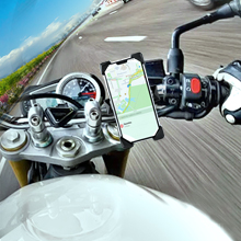 Navigation by map on phone or want to enjoy music, the mount keep your phone fixed.