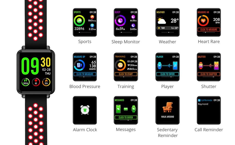 Multifuction smart watch