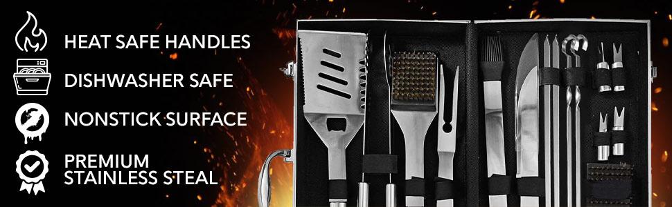 bbq accessories grilling set