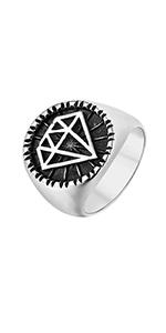 Diamond Signet Rings