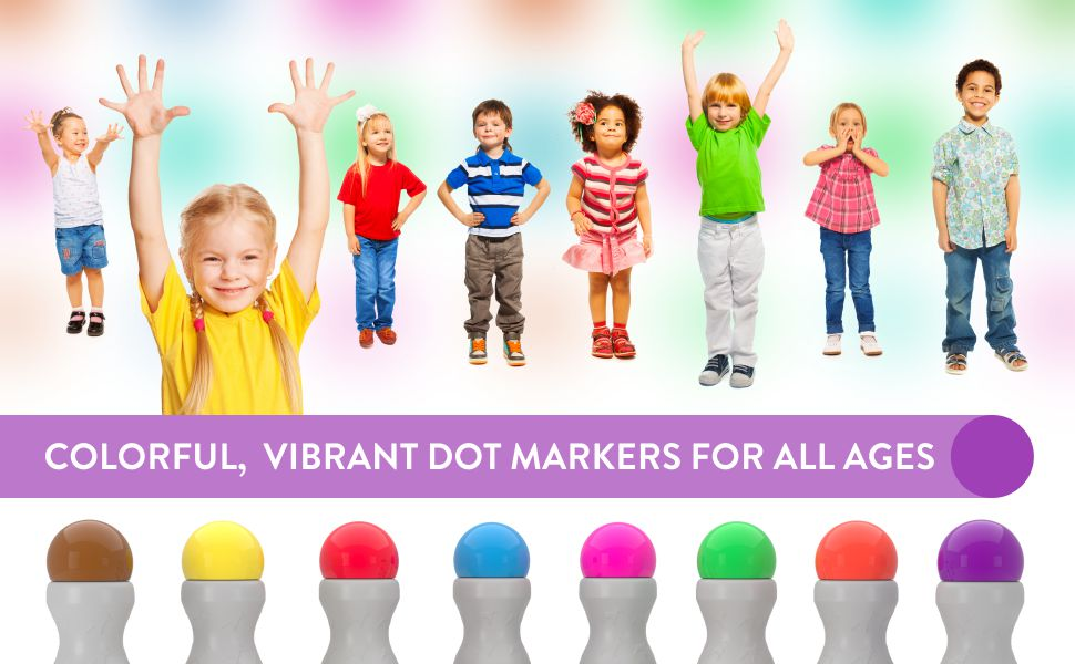 Cameron Frank Dot Markers For Kids and Preschool