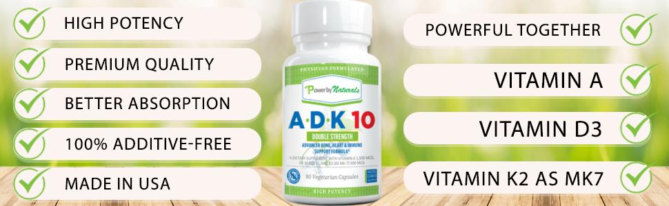 Vitamin ADK 10