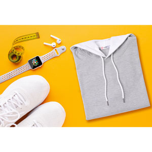Pdbokew Mens Fleece Hoodies Solid Sweatshirts Zipper Cardigan Sportswear