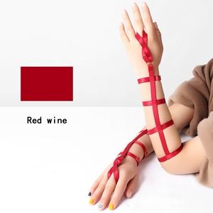 Harness Bracelet+Wine Red