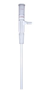 Long stem Vacuum take off glass adapter 24/40 adapter lab glassware laboratory glassware