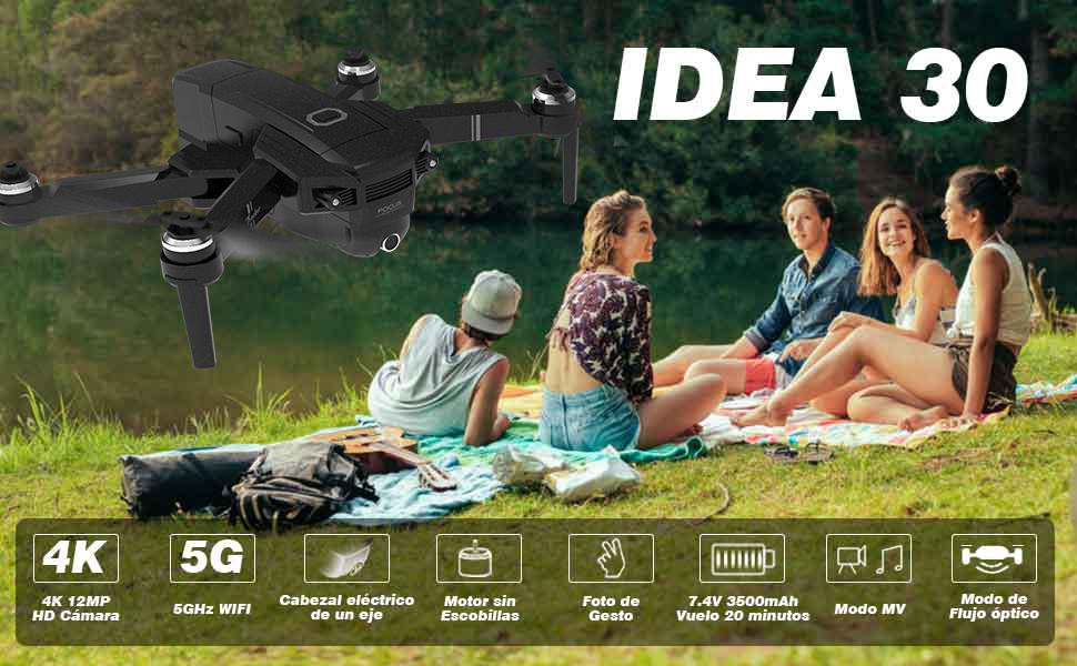 IDEA30 Drone con Camara HD