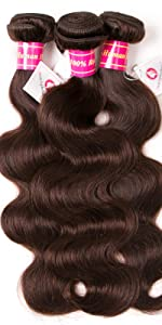 dark brown body wave